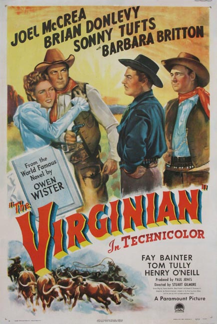 VIRGINIAN, THE (The Virginian) @ FilmPosters.com