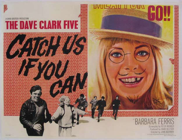 CATCH US IF YOU CAN (Having a Wild Weekend) @ FilmPosters.com