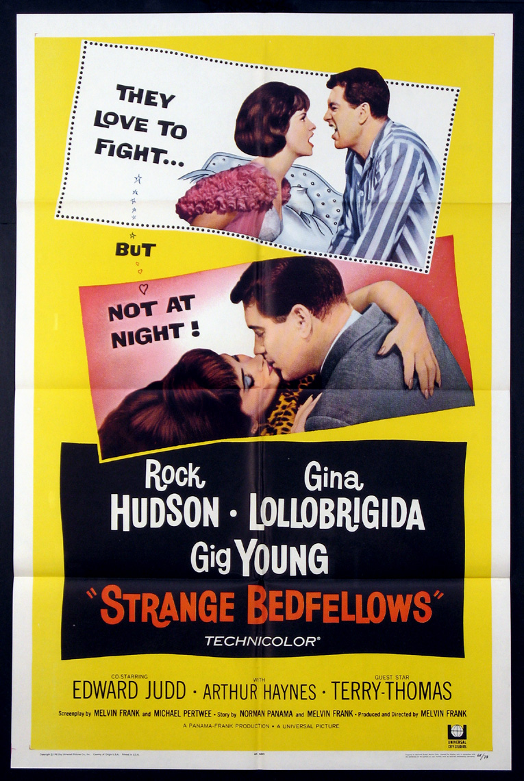 STRANGE BEDFELLOWS @ FilmPosters.com