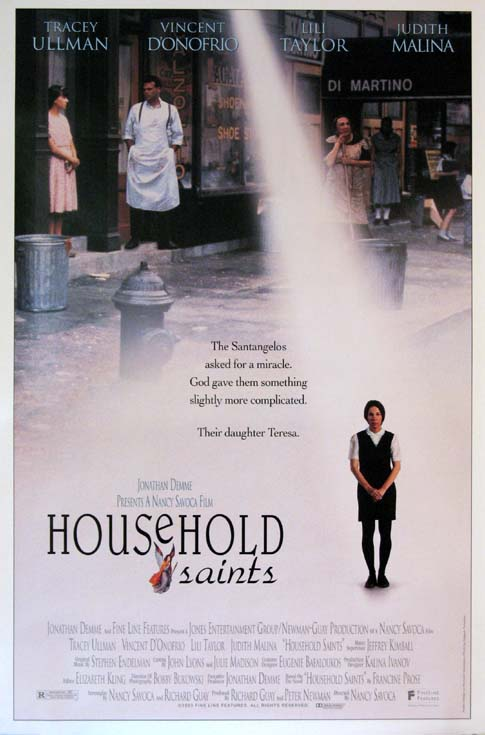 HOUSEHOLD SAINTS @ FilmPosters.com