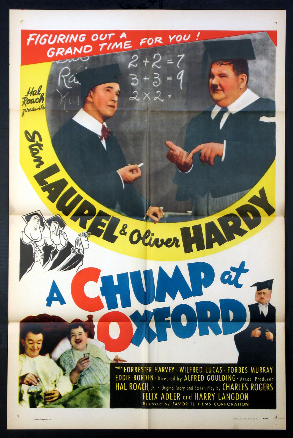 CHUMP AT OXFORD, A @ FilmPosters.com