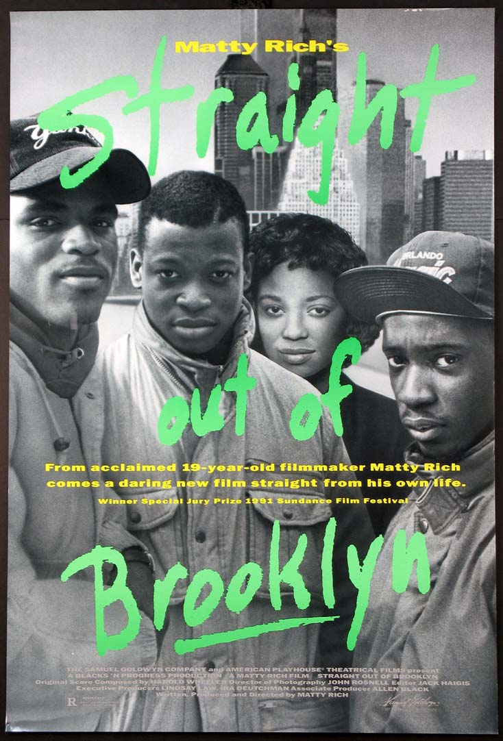 STRAIGHT OUT OF BROOKLYN @ FilmPosters.com