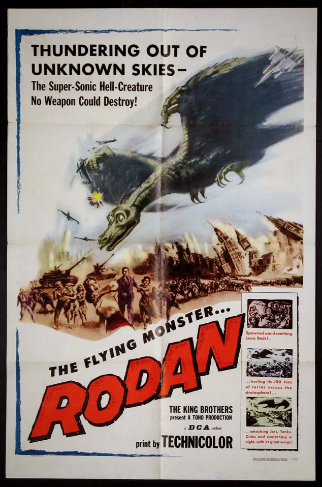 RODAN! THE FLYING MONSTER @ FilmPosters.com
