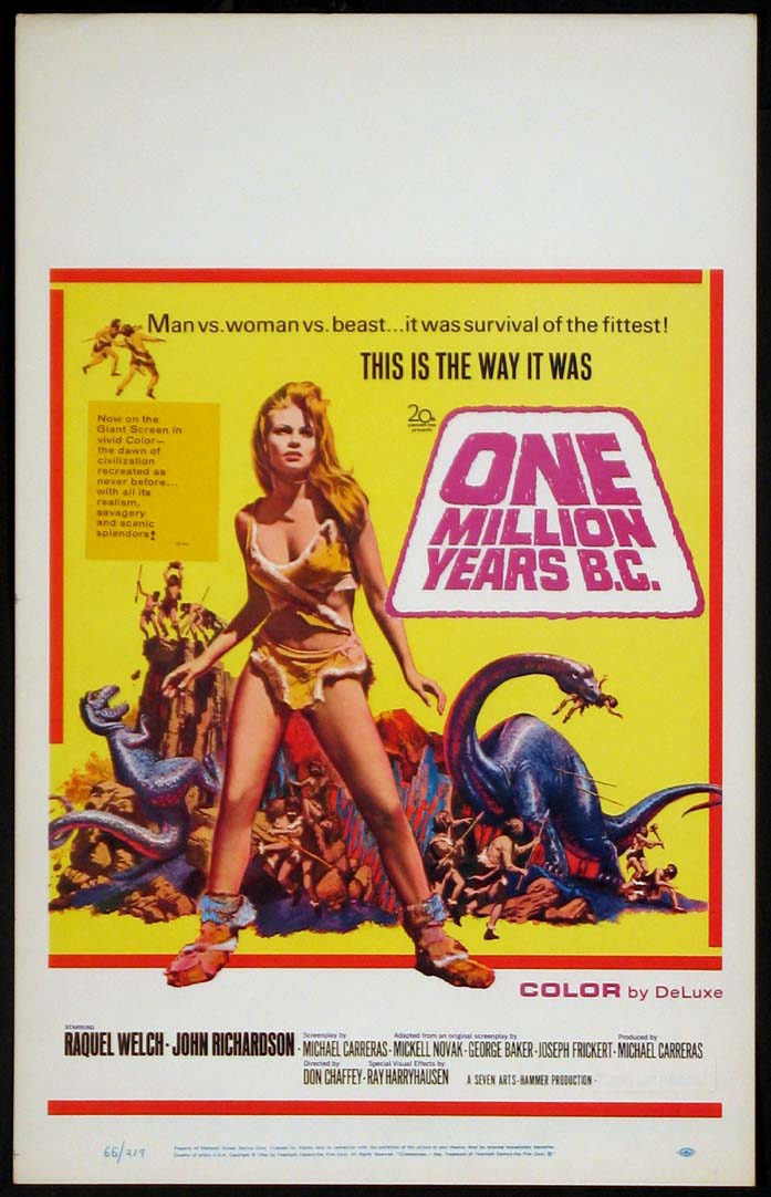 ONE MILLION YEARS B.C. @ FilmPosters.com