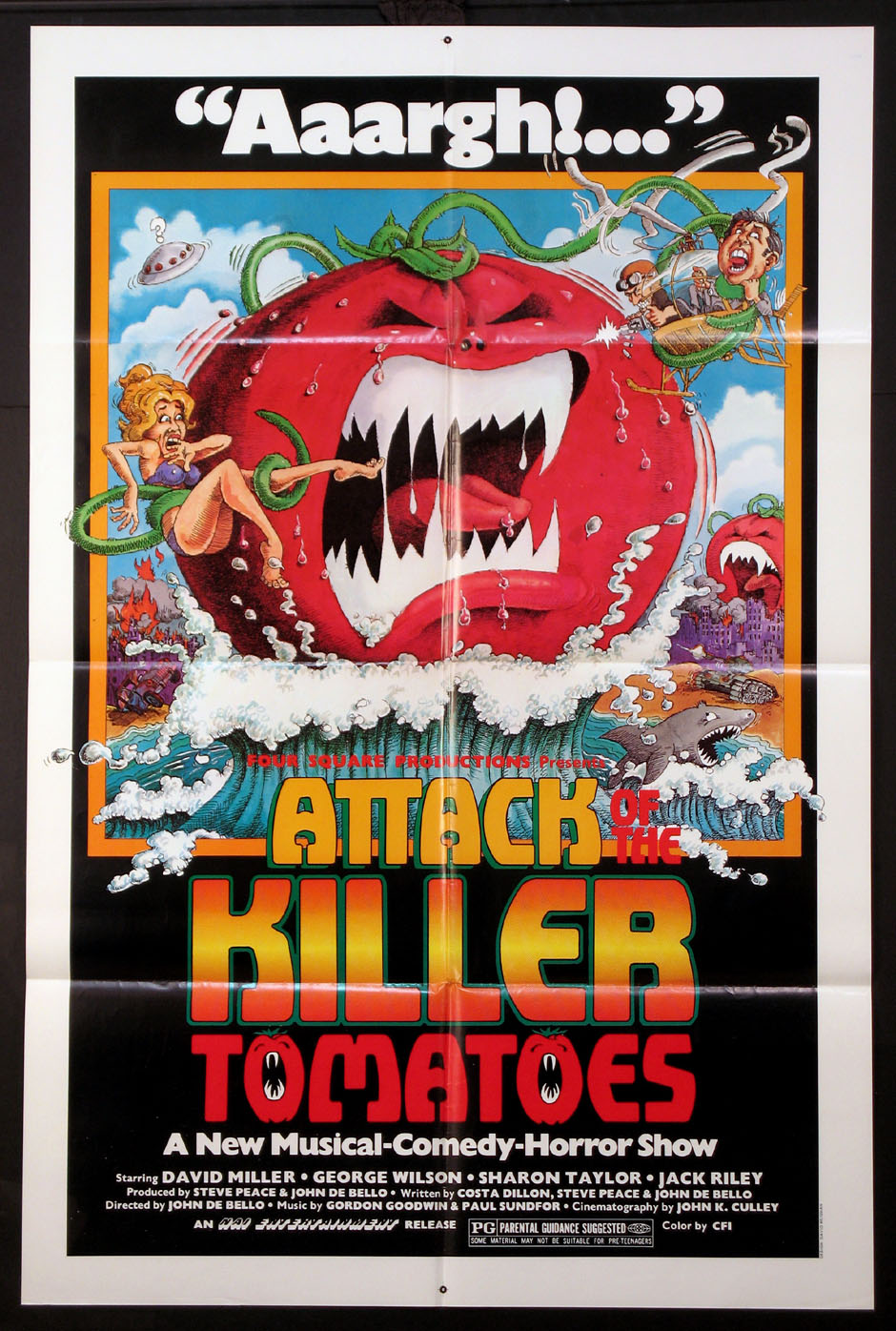 ATTACK OF THE KILLER TOMATOES @ FilmPosters.com