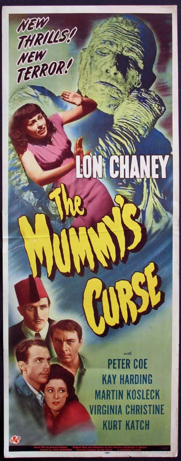 MUMMY'S CURSE @ FilmPosters.com