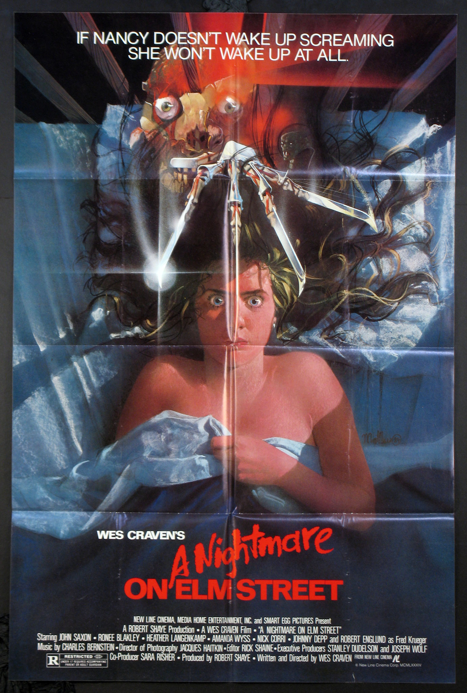 NIGHTMARE ON ELM STREET, A @ FilmPosters.com