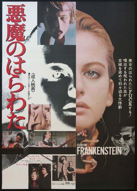 ANDY WARHOL'S FRANKENSTEIN (Flesh for Frankenstein) @ FilmPosters.com