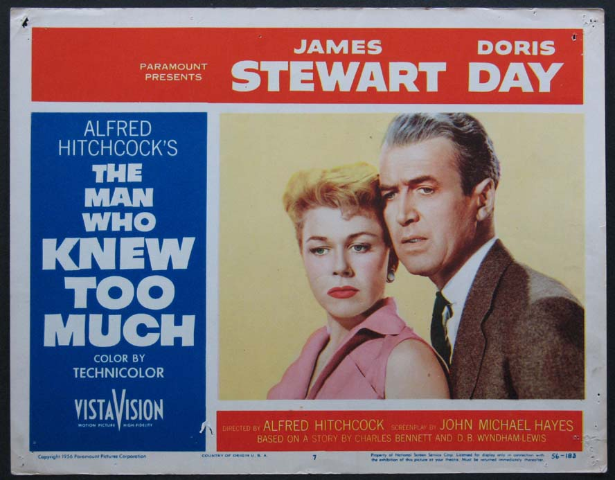 MAN WHO KNEW TOO MUCH, THE @ FilmPosters.com