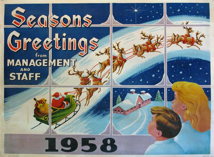 SEASONS GREETINGS 1958 @ FilmPosters.com