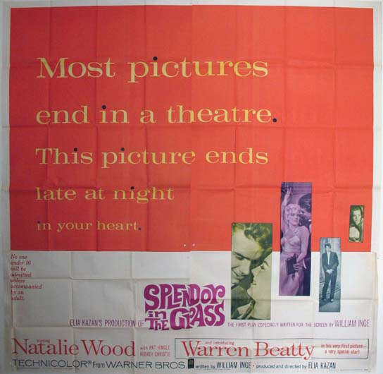 SPLENDOR IN THE GRASS @ FilmPosters.com
