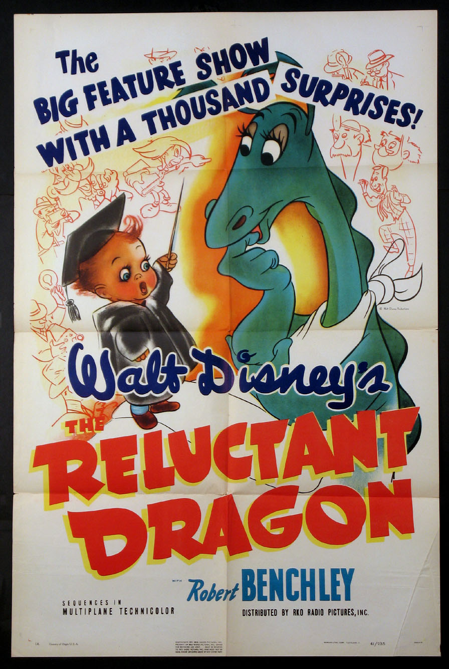 RELUCTANT DRAGON, THE @ FilmPosters.com