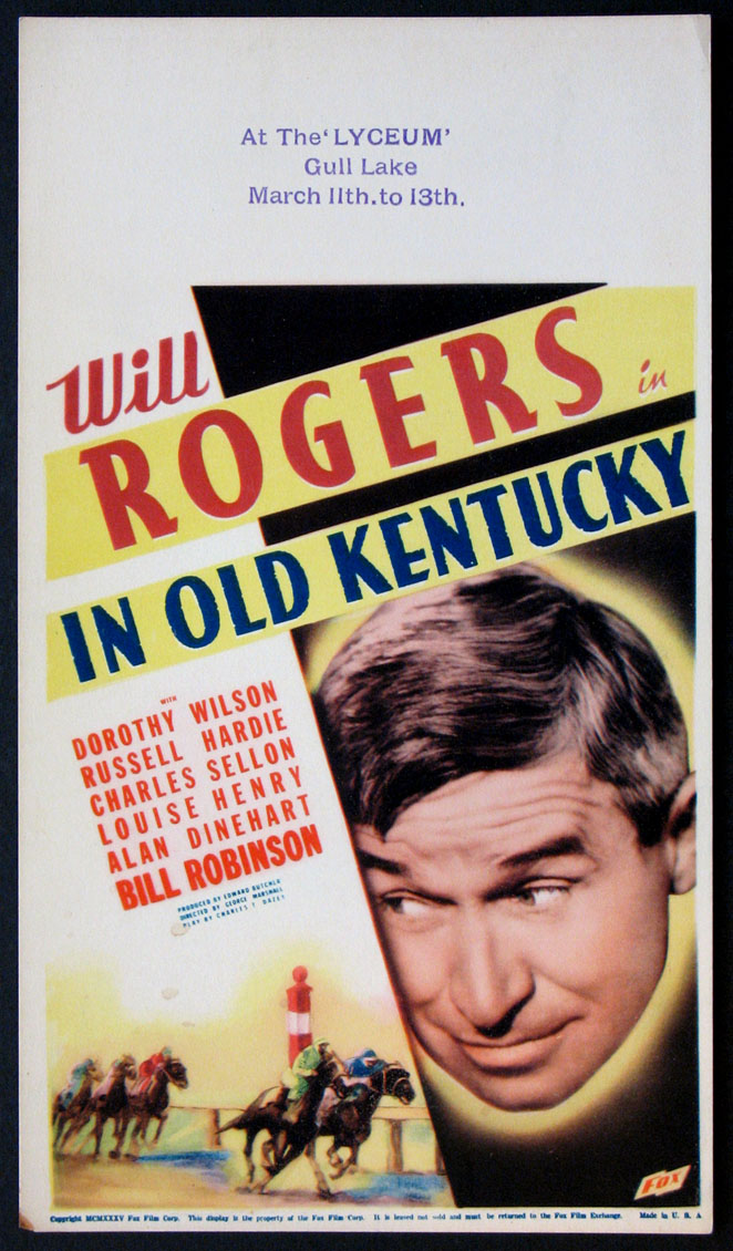IN OLD KENTUCKY @ FilmPosters.com