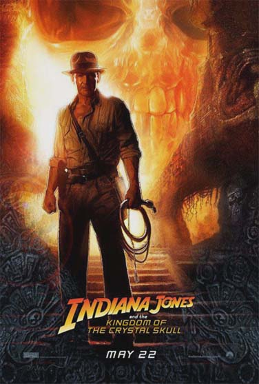 INDIANA JONES AND THE KINGDOM OF THE CRYSTAL SKULL @ FilmPosters.com