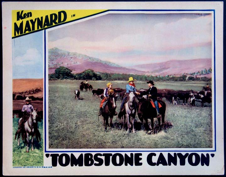Tombstone Canyon movie