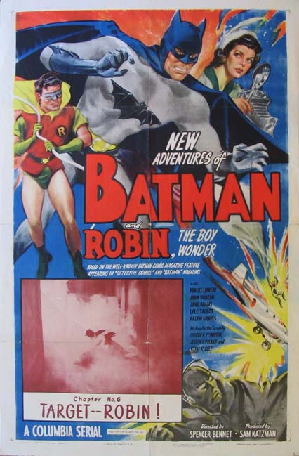 NEW ADVENTURES OF BATMAN AND ROBIN @ FilmPosters.com