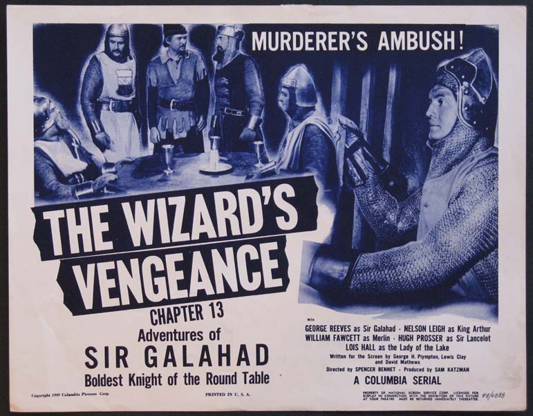 ADVENTURE OF SIR GALAHAD @ FilmPosters.com