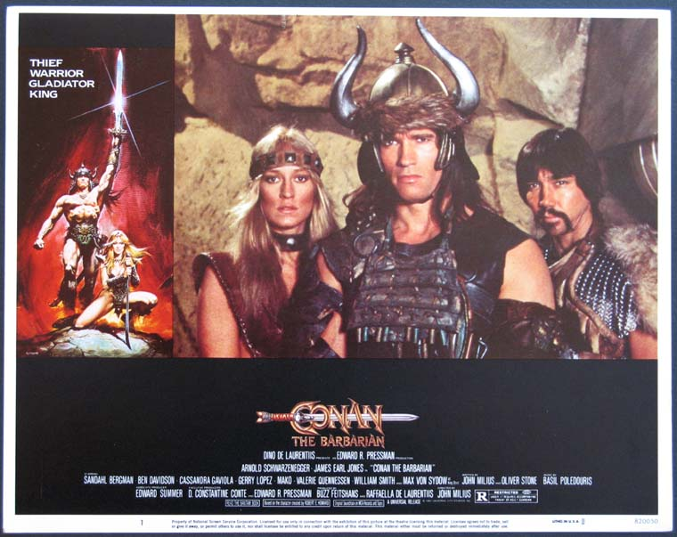 CONAN THE BARBARIAN @ FilmPosters.com