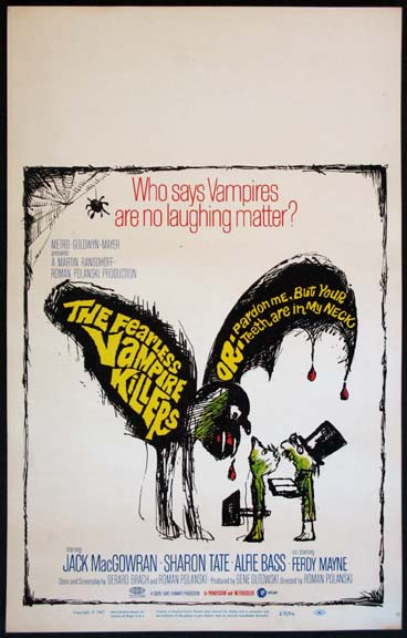 FEARLESS VAMPIRE KILLERS, THE @ FilmPosters.com