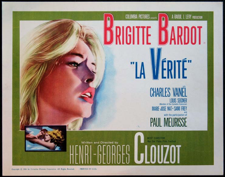 VERITE, LA (La Verite, The Truth) @ FilmPosters.com
