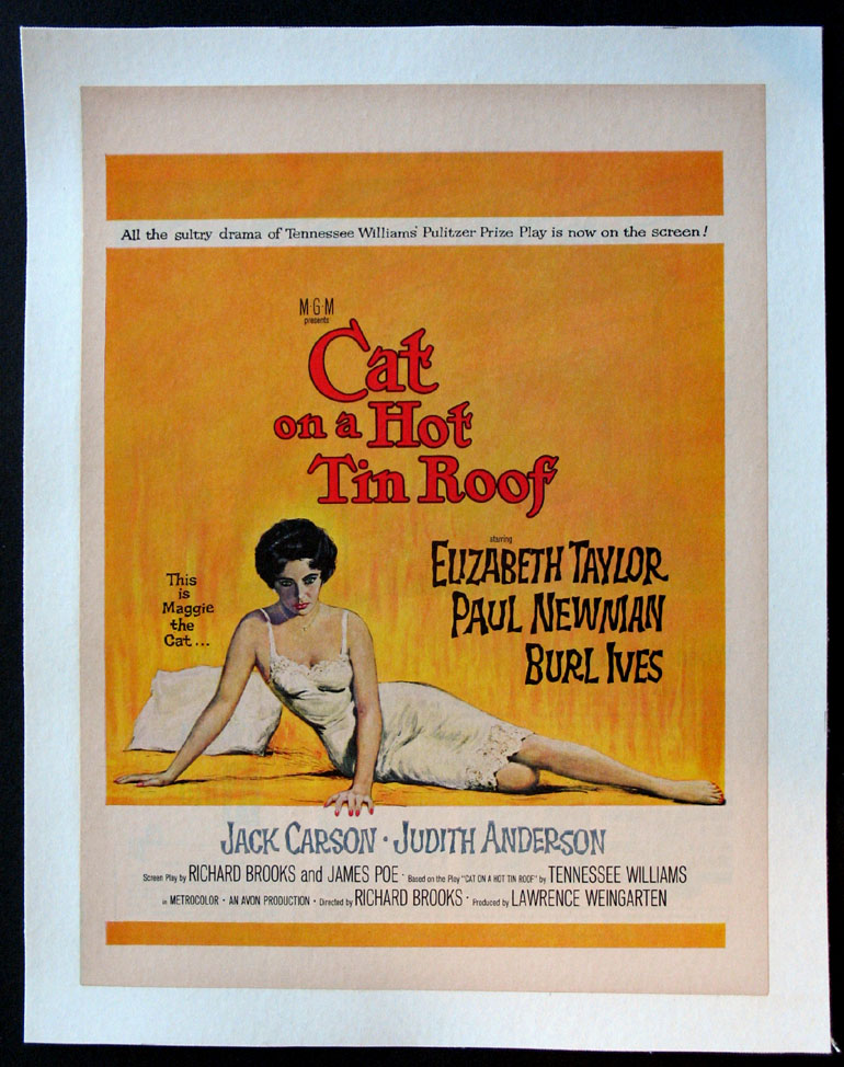 CAT ON A HOT TIN ROOF @ FilmPosters.com