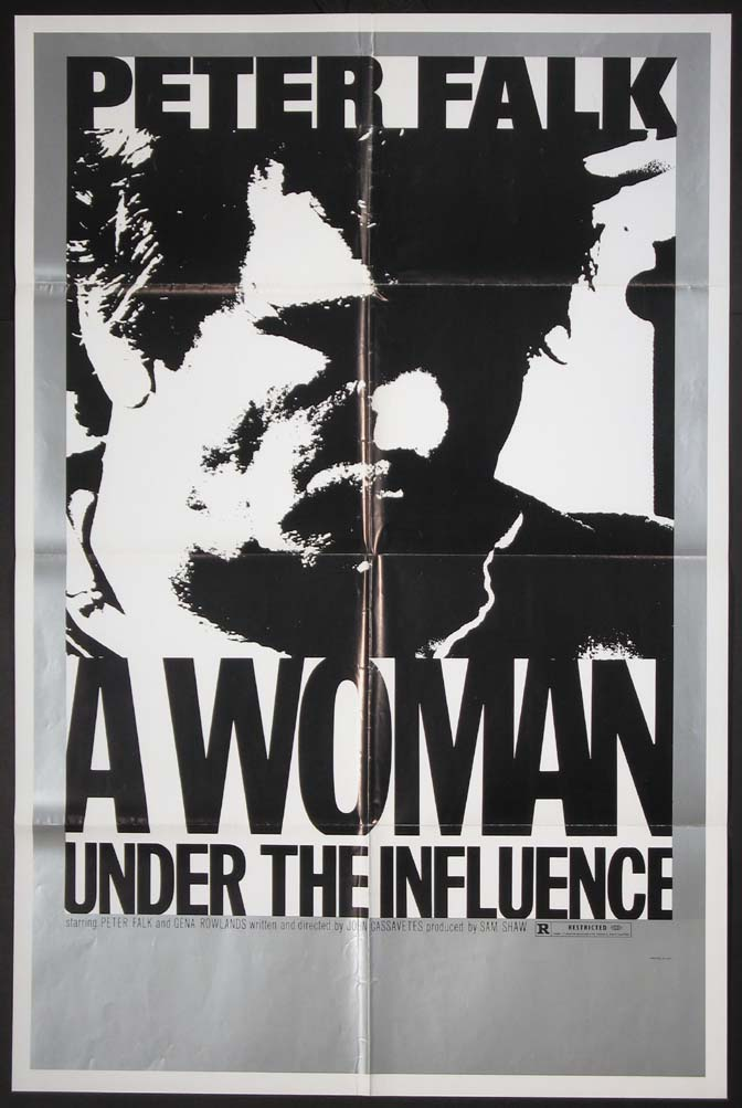 WOMAN UNDER THE INFLUENCE, A @ FilmPosters.com