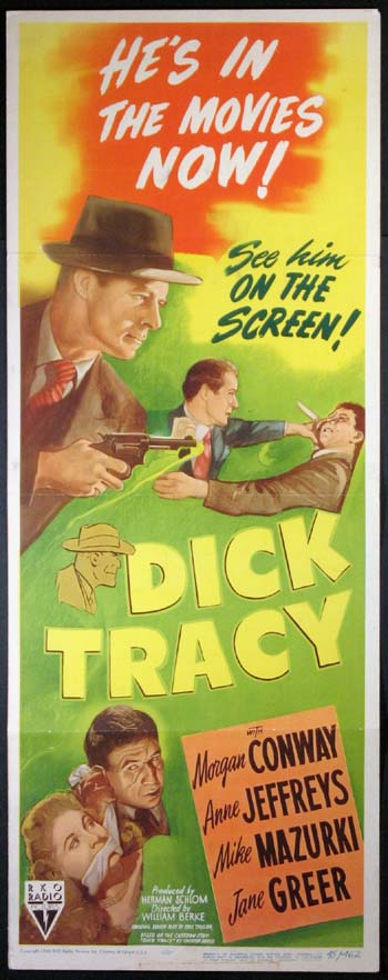 DICK TRACY @ FilmPosters.com