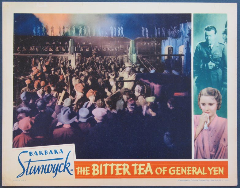 BITTER TEA OF GENERAL YEN, THE @ FilmPosters.com