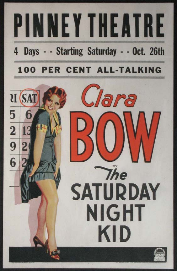SATURDAY NIGHT KID @ FilmPosters.com