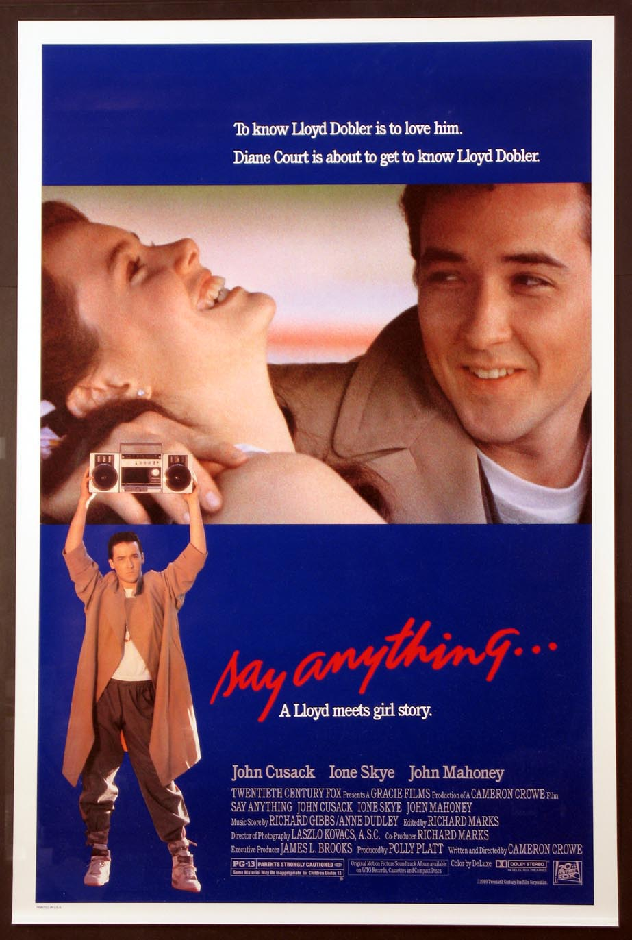 SAY ANYTHING @ FilmPosters.com