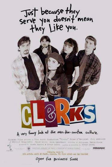 CLERKS @ FilmPosters.com