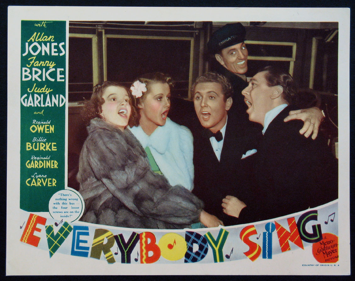 EVERYBODY SING @ FilmPosters.com