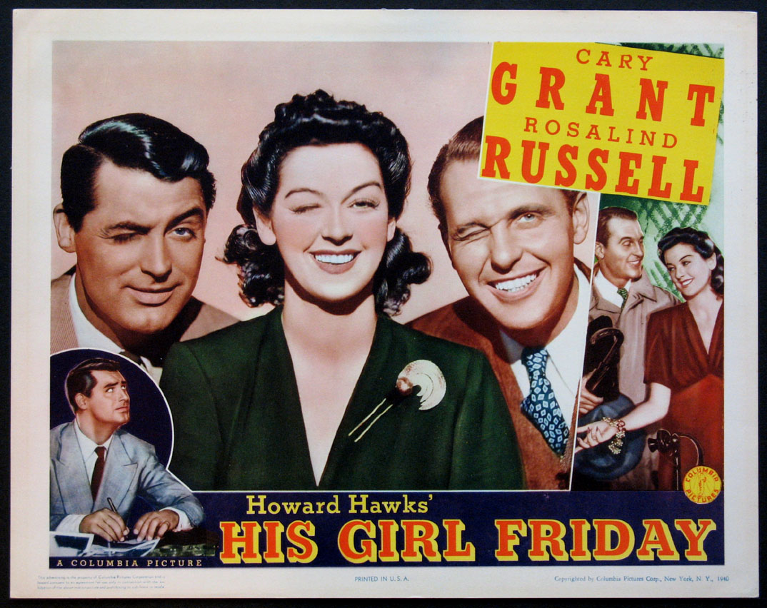 HIS GIRL FRIDAY @ FilmPosters.com