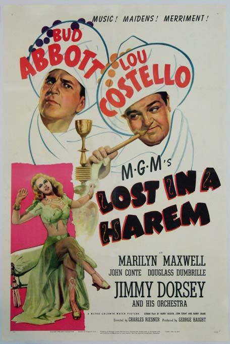 LOST IN A HAREM (Abbott and Costello) @ FilmPosters.com