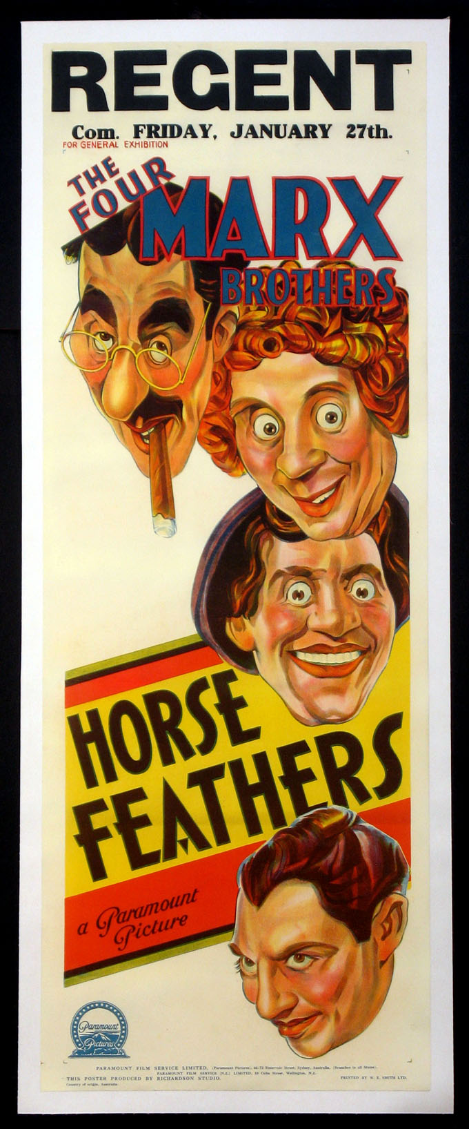 HORSE FEATHERS (Horsefeathers) @ FilmPosters.com