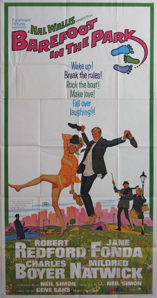 BAREFOOT IN THE PARK @ FilmPosters.com