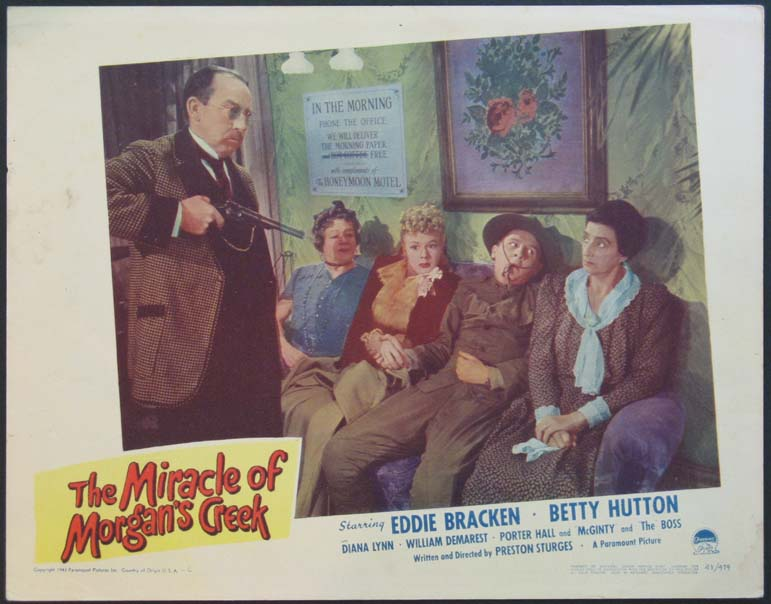 MIRACLE OF MORGAN'S CREEK @ FilmPosters.com