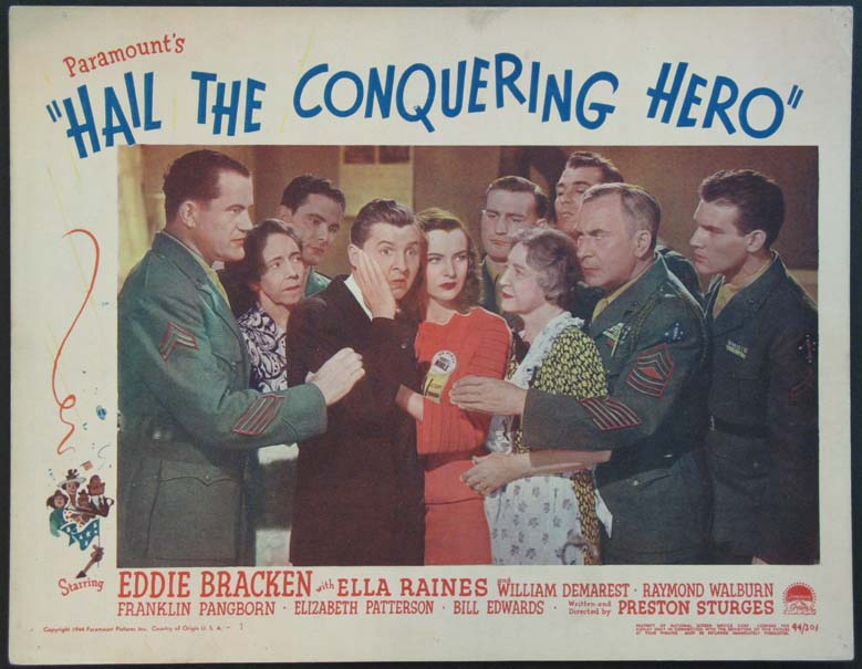 HAIL THE CONQUERING HERO @ FilmPosters.com
