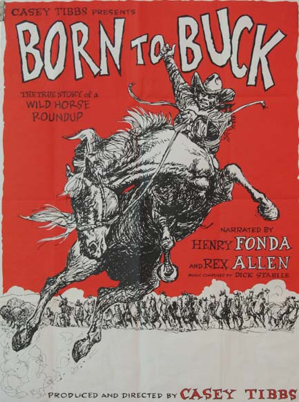 BORN TO BUCK @ FilmPosters.com