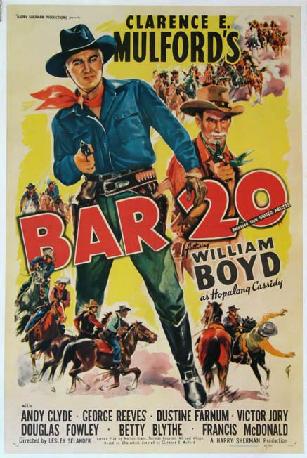 BAR 20 (Hopalong Cassidy series) @ FilmPosters.com