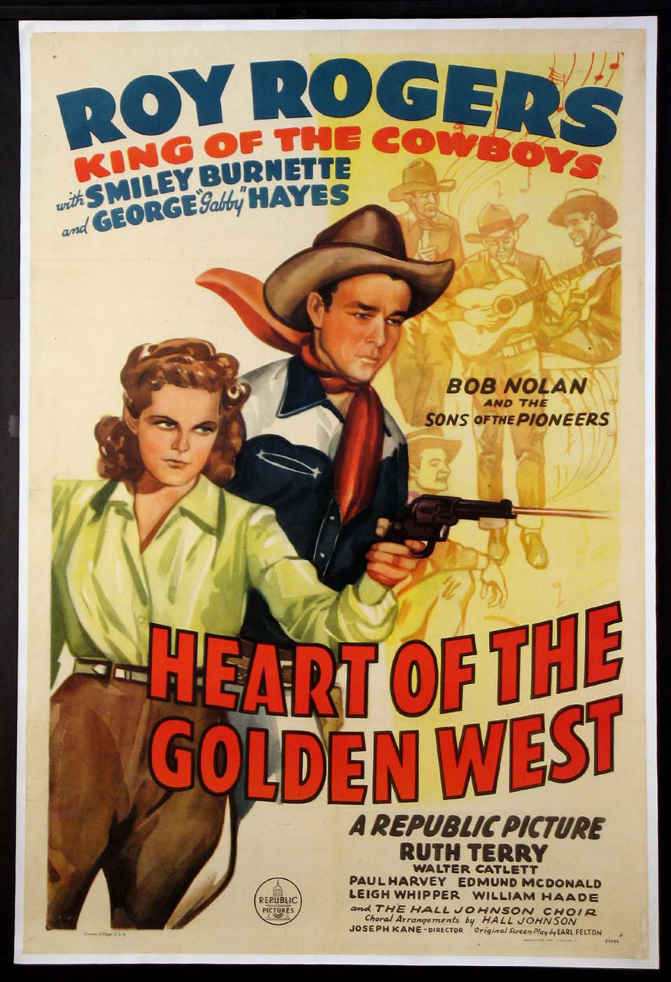 HEART OF THE GOLDEN WEST @ FilmPosters.com