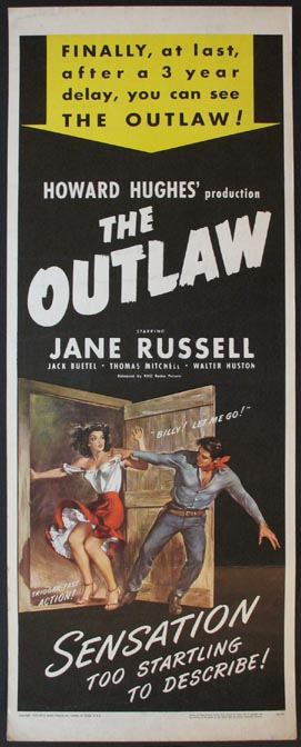 OUTLAW, THE (The Outlaw) @ FilmPosters.com