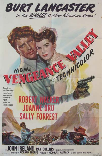 VENGEANCE VALLEY @ FilmPosters.com
