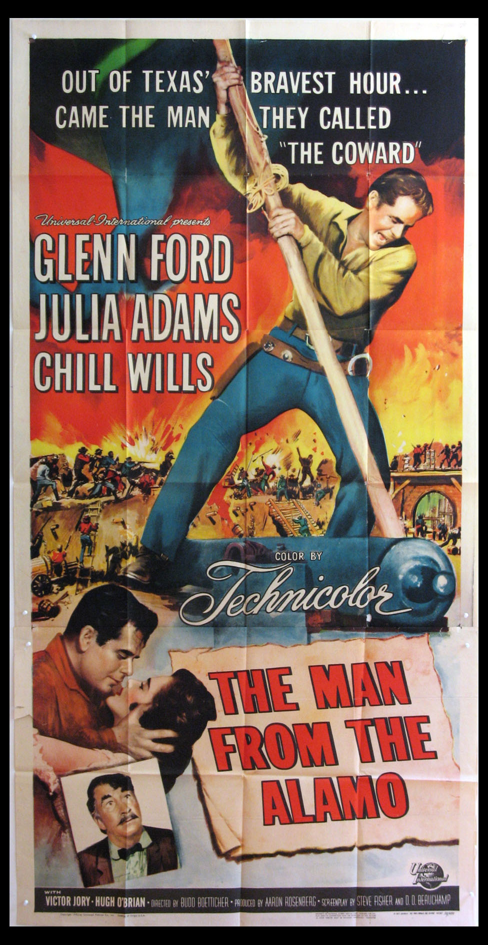 MAN FROM THE ALAMO @ FilmPosters.com