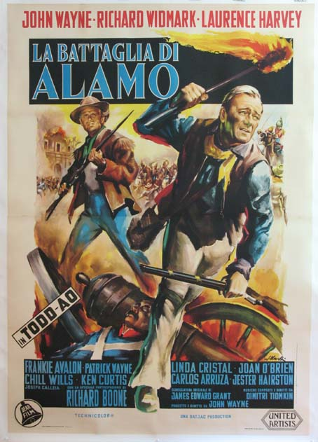the gallery for gt the alamo movie poster