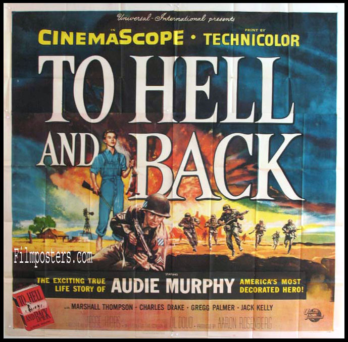 TO HELL AND BACK @ FilmPosters.com