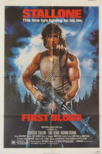 FIRST BLOOD (Rambo: First Blood) @ FilmPosters.com
