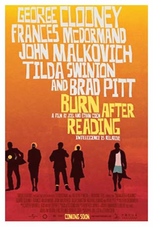 BURN AFTER READING @ FilmPosters.com