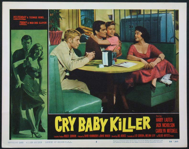 CRY-BABY KILLER, THE (The Cry Baby Killer) @ FilmPosters.com