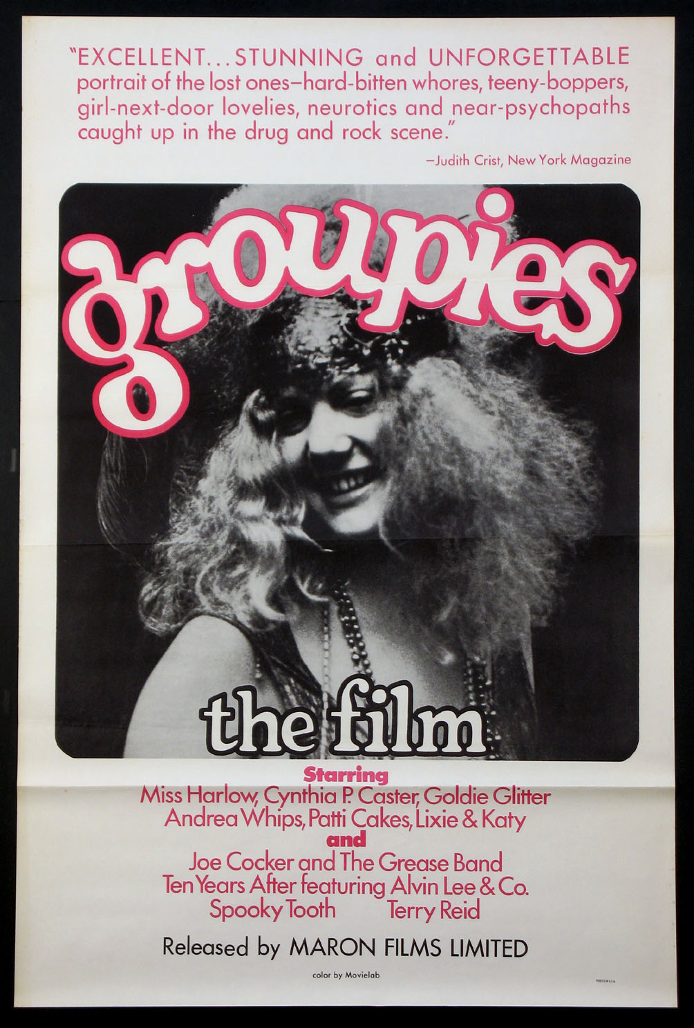 GROUPIES @ FilmPosters.com